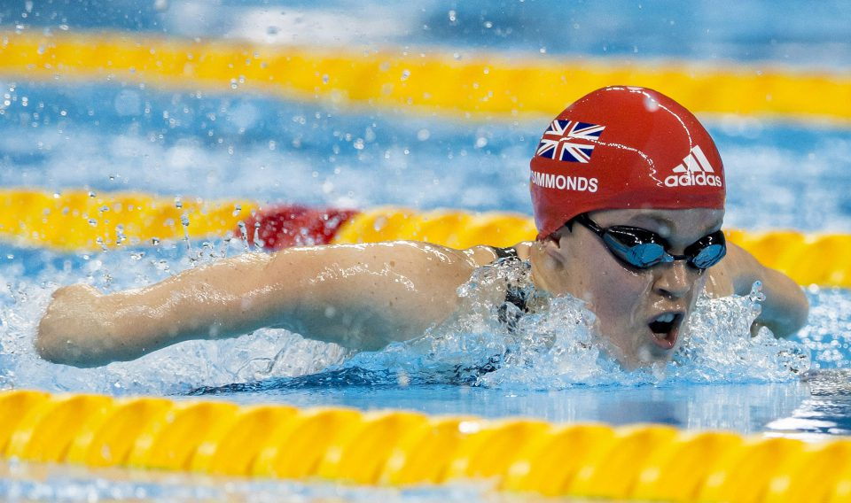 Lisa Pember - British Paralympics 02