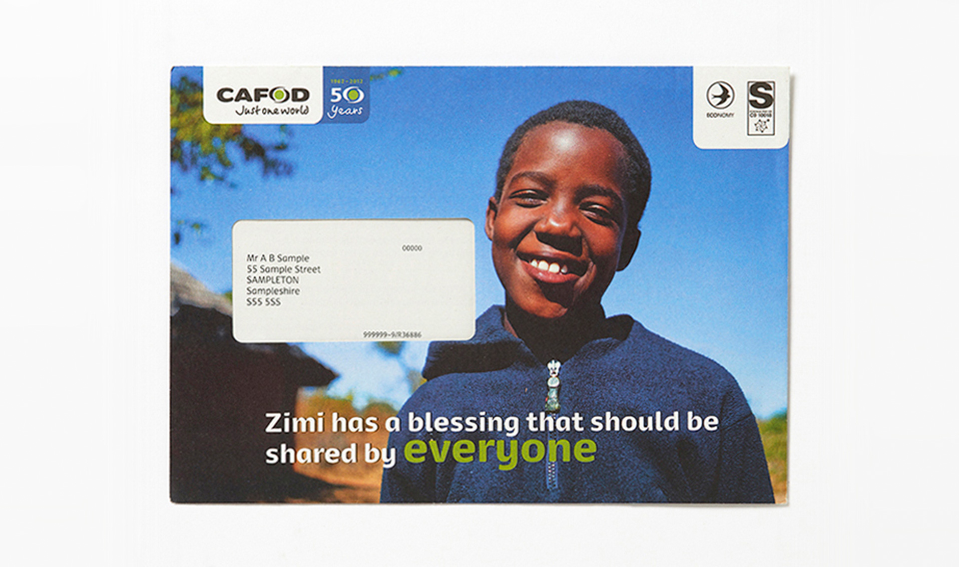 Lisa Pember - CAFOD UK Aid Match water appeal 01