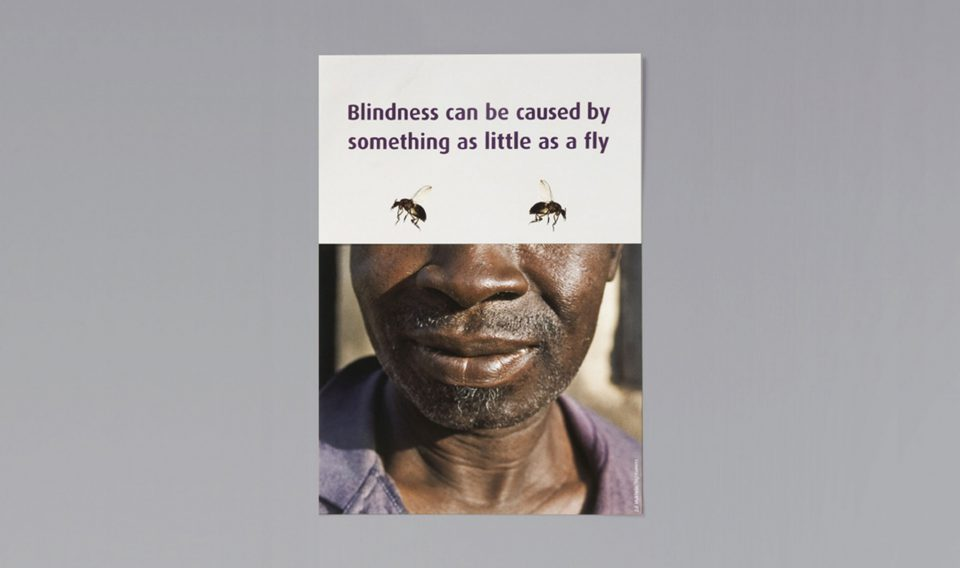 Lisa Pember - SightSavers river blindness appeal 01