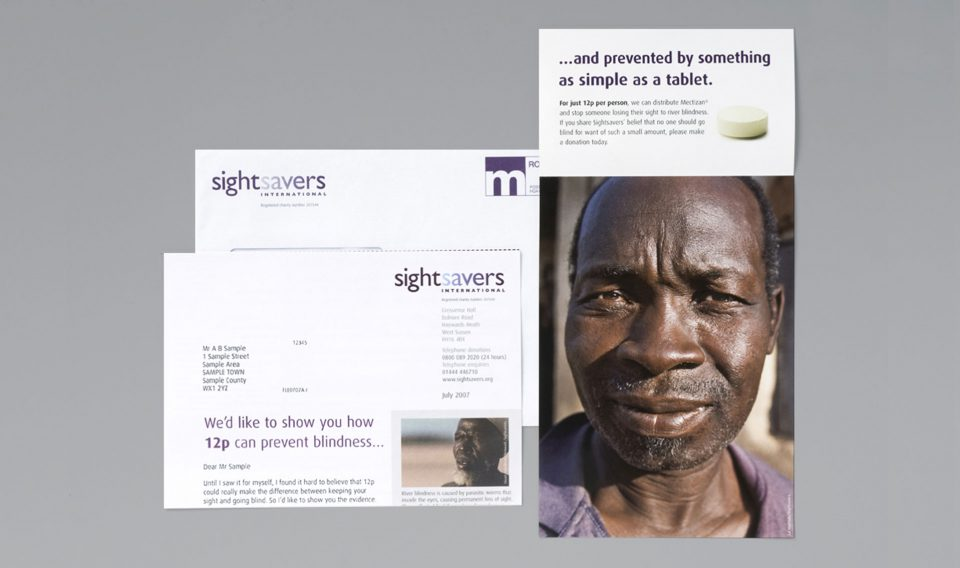 Lisa Pember - SightSavers river blindness appeal 02